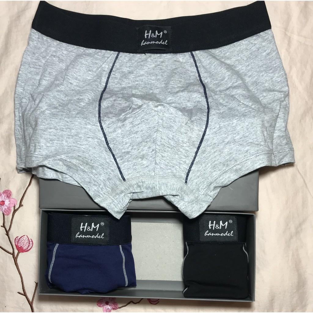 Sịp đùi nam hàng xuất Nhật – Hộp 3 quần
