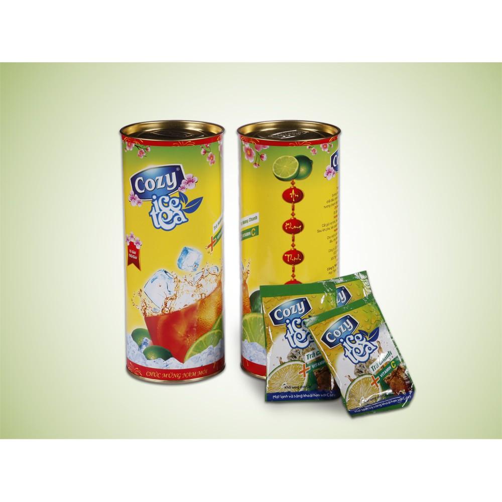 [Tết] Trà Hương Đào/ Chanh Cozy Hộp 225g