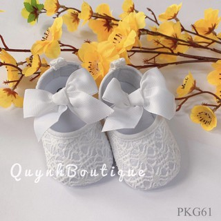 Giày bé gái , giày nơ cho bé QUỲNH BOUTIQUE
