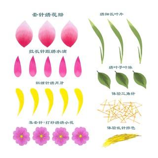 Bộ Dụng Cụ Thêu Hoa Cho Người Mới Bắt Đầu