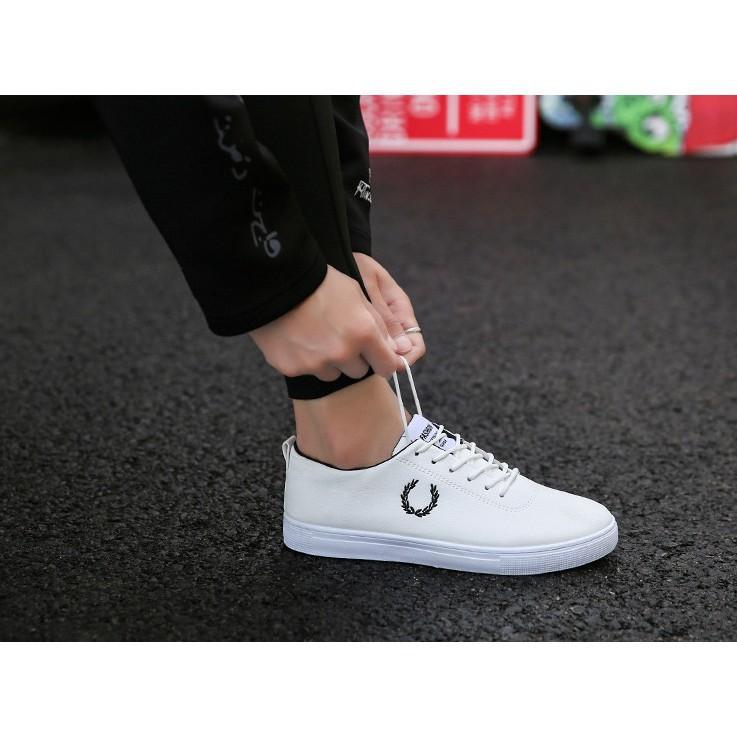 [giày nam ]mầu trắng Sneakers thể