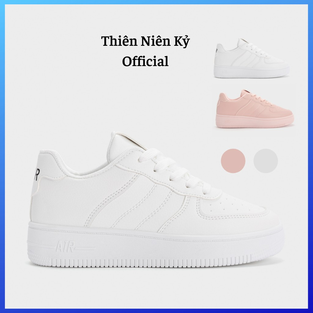 Giày Thể Thao Nữ Sneaker Nâng Đế 3Phân MIFAT - GSK335