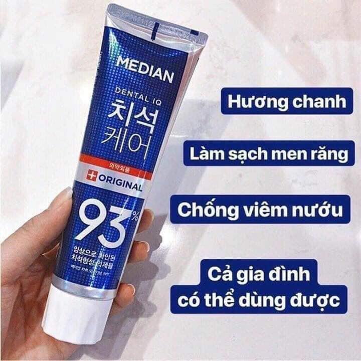 Kem Đánh Trắng Răng MEDIAN 93% Tooth Paste 120gr