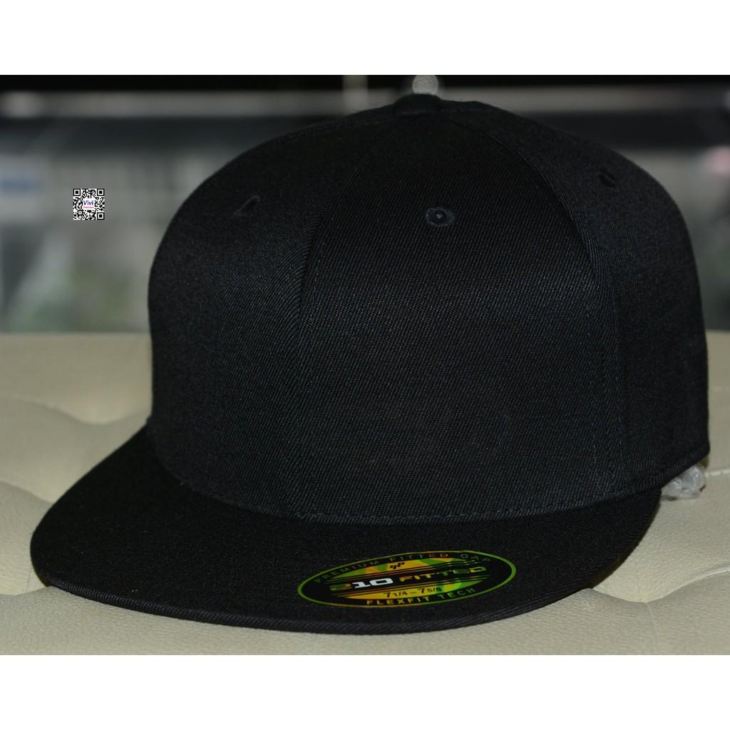 Nón The Premium 210 Full Black Snapback