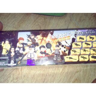 Lắp ráp Lego đột kích HJ019