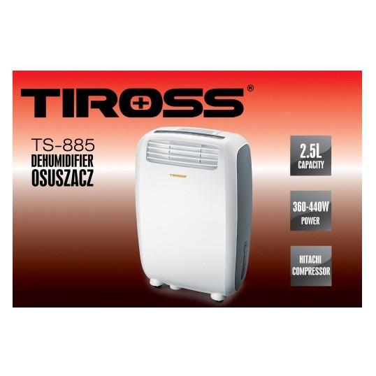 Máy hút ẩm Tiross TS-885(20lít/ngày)
