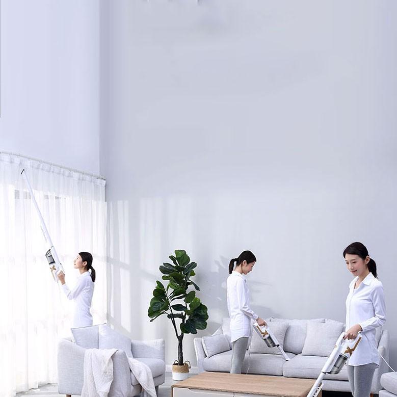 Máy hút bụi cầm tay Yangzi - Máy hút bụi gia đình nhập khẩu chính hãng bảo hành 12 tháng, tiện lợi lực hút khỏe 14000Pa