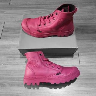 Giày Palladium nữ chính hãng màu hồng da thuộc thumbnail