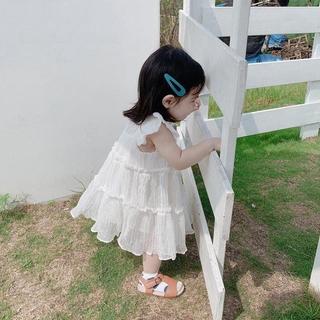 Đầm công chúa tay ngắn dành cho bé gái 1-7 tuổi