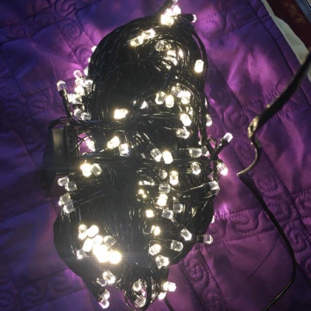 50m dây đèn led trang trí ngoài trời chống nước