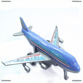 WY Plastic Air Bus Model Kids Children Pull Back Airliner Passenger Plane Toys Gift NN