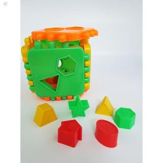 Đồ chơi thông minh – bộ thả hình khối nhiều màu sắc HÀNG CÒN TRONG KHO