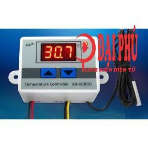 Bộ điều khiển nhiệt độ XH-W3001 từ -50 đến 110 độ C, sai số 0,1 độ, 220VAC - 3297896 , 493554072 , 322_493554072 , 120000 , Bo-dieu-khien-nhiet-do-XH-W3001-tu-50-den-110-do-C-sai-so-01-do-220VAC-322_493554072 , shopee.vn , Bộ điều khiển nhiệt độ XH-W3001 từ -50 đến 110 độ C, sai số 0,1 độ, 220VAC