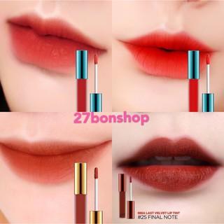 Son Kem Bbia Last Velvet Lip Tint Màu 02, 04, 12, 25