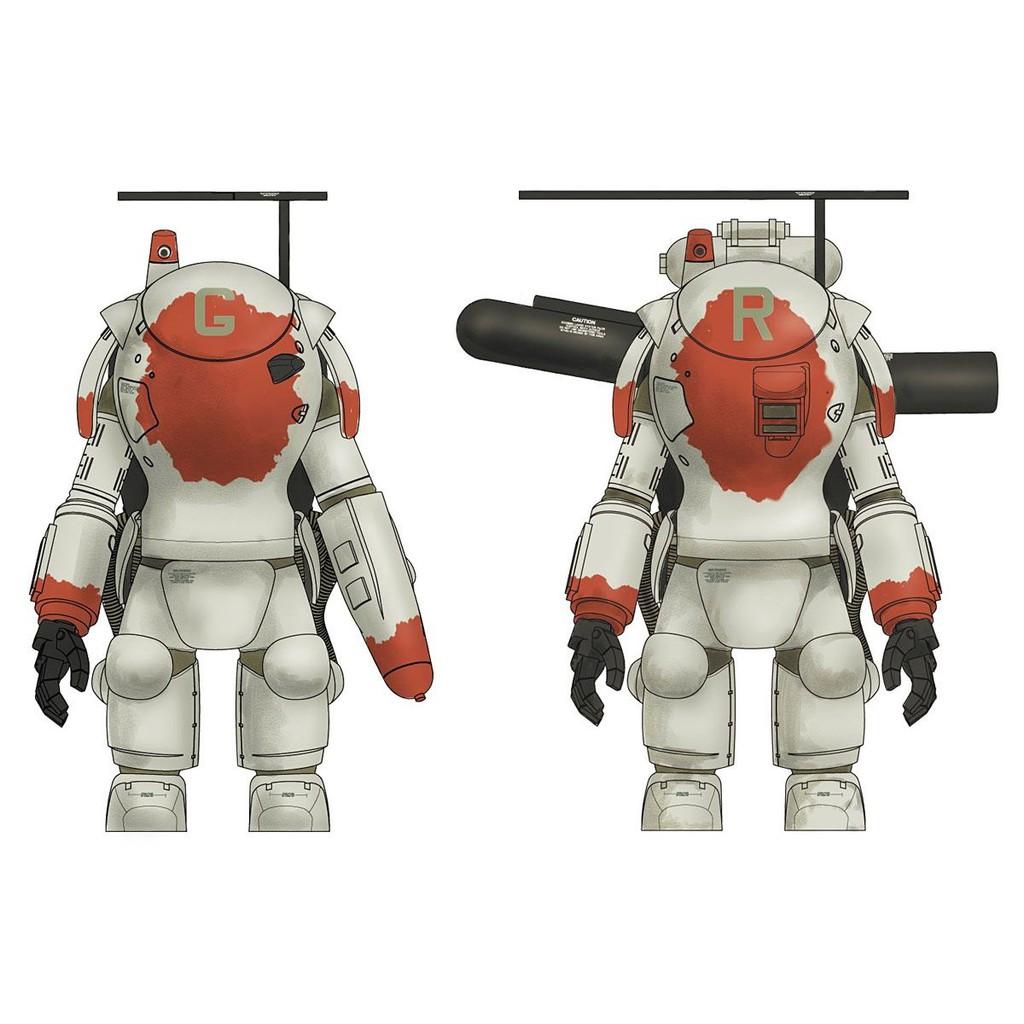 Mô Hình Lắp Ráp Hasegawa 1/35 Fireball SG & SG Prowler (Maschinen Krieger)