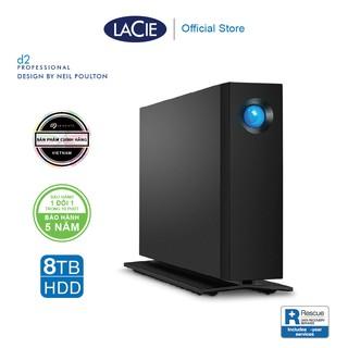 Ổ Cứng Để Bàn Lacie D2 Pro 8TB USB-C + Rescue Gói cứu dữ liệu STHA8000800 thumbnail