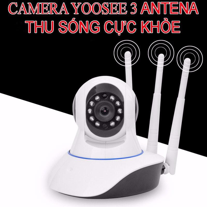 Kết quả hình ảnh cho camera wifi yoosee 3 râu 2.0 siêu nét