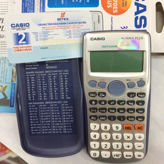 100% hàng chính hãng Máy tính casio fx-570es plus bảo hành 2 năm - 2887680 , 624888256 , 322_624888256 , 480000 , 100Phan-Tram-hang-chinh-hang-May-tinh-casio-fx-570es-plus-bao-hanh-2-nam-322_624888256 , shopee.vn , 100% hàng chính hãng Máy tính casio fx-570es plus bảo hành 2 năm