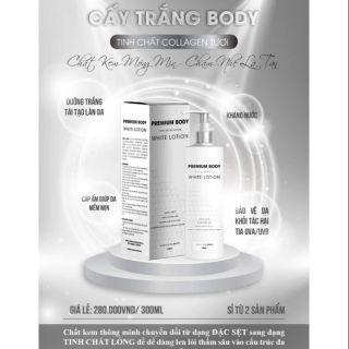 Cấy trắng Body collagen tươi Cc white -300ml thumbnail