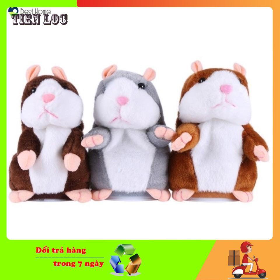 [SIÊU SIÊU RẺ] Đồ chơi Chuột Hamster thông minh - Talking Hamster