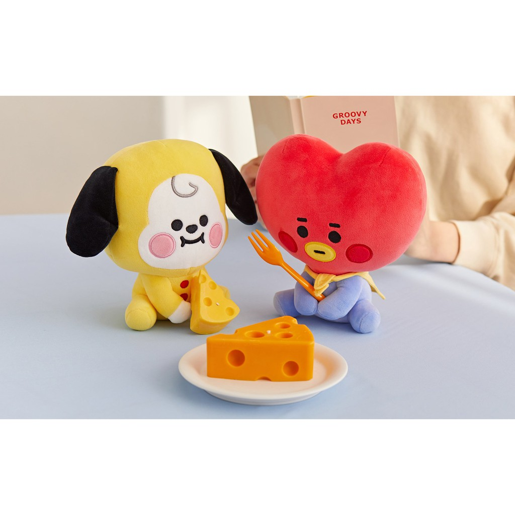 Offical BT21 baby sitting doll x Line Friend