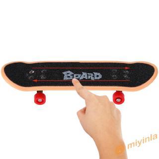 Ván Trượt Ngón Tay Mini Bằng Nhựa 12 Cái