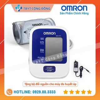 Máy đo huyết áp bắp tay Omron HEM – 8712 + Tặng Bộ Đổi Nguồn ( Bảo Hành 5 Năm Chính Hãng )