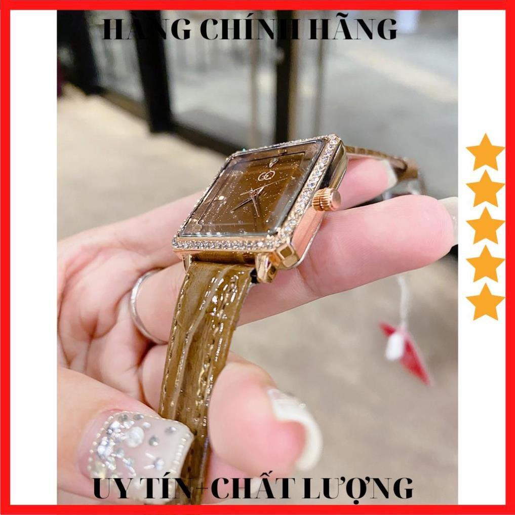 [ HÀNG CAO CẤP ] Đồng hồ Nữ GUQI RUBY Nhỏ Xinh Phù Hợp Cố Tay Việt Nam - Tặng kèm Pin ĐH dự phòng