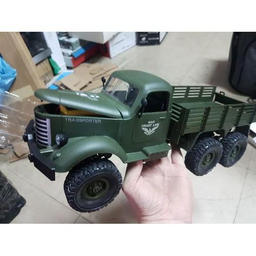 Xe quân sự 6 bánh chạy địa hình jjrc q60 - jjrc q60