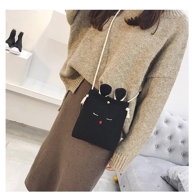 Túi đeo chéo nữ ulzzang thỏ