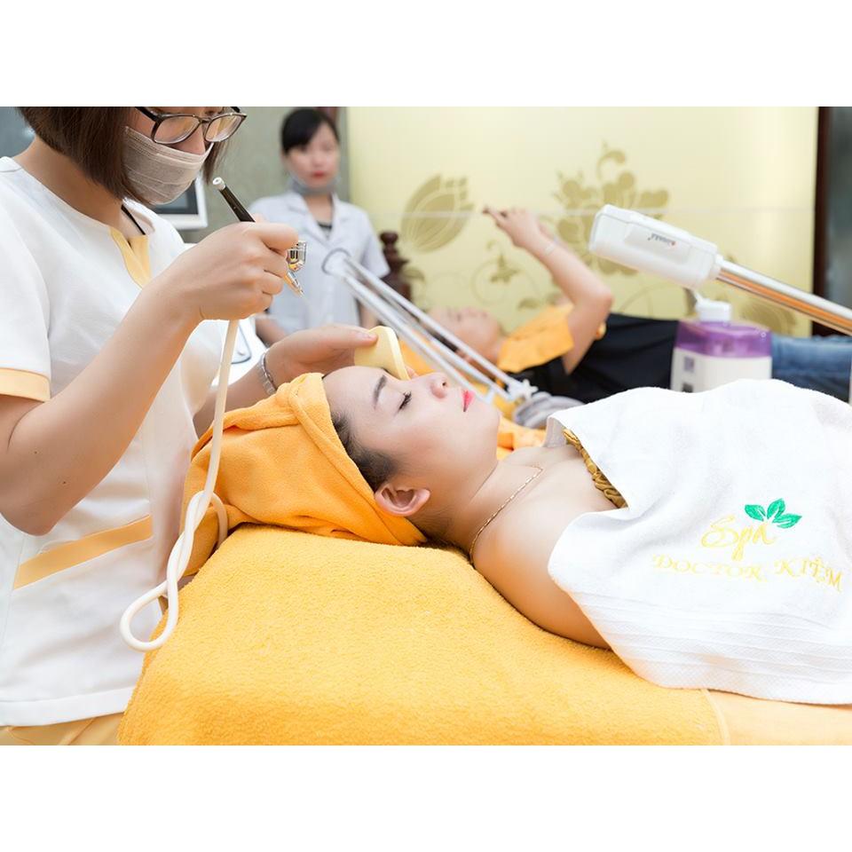 HN [Voucher] - Quy trình chăm sóc da căng bóng cao cấp bằng CN oxy tươi