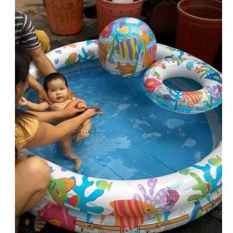 Bể bơi tròn 3 tầng