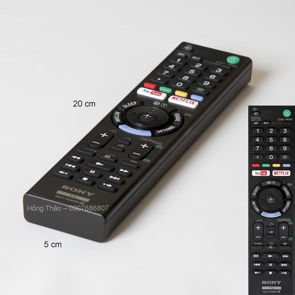 Remote Tivi Sony RMT TX300P