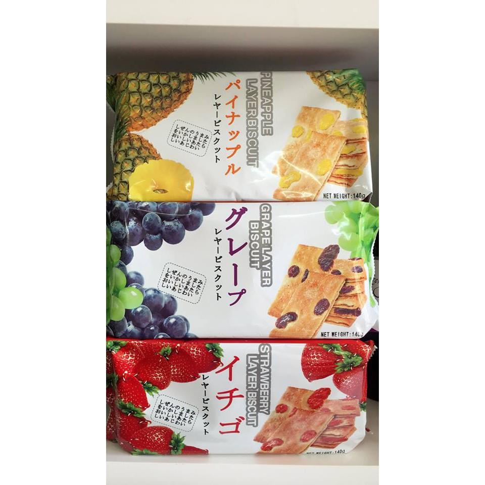 Bánh quy Layer Biscuit 140g (Nhập khẩu Nhật Bản)