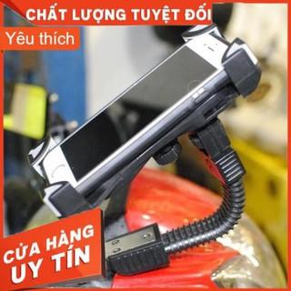 🏍 Kẹp điện thoại gắn chân gương xe máy 🏍🏍