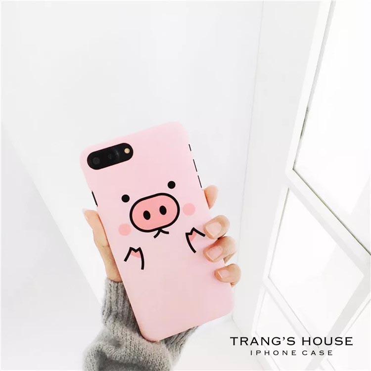 Ốp Lưng Iphone Pink Color Cute Pig - 2432408 , 612453400 , 322_612453400 , 50000 , Op-Lung-Iphone-Pink-Color-Cute-Pig-322_612453400 , shopee.vn , Ốp Lưng Iphone Pink Color Cute Pig