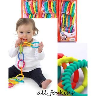 Set 24 vòng gặm treo nối lots & link xuất khẩu Mỹ đồ chơi cho bé