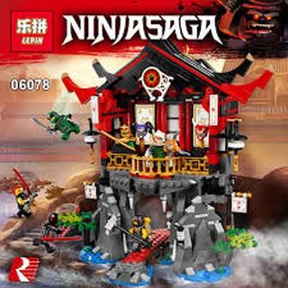 Lepin 06078 – Ngôi đền phục sinh của các Ninjago (70643)
