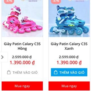 Giày patin Calary C3S mới rẻ :3
