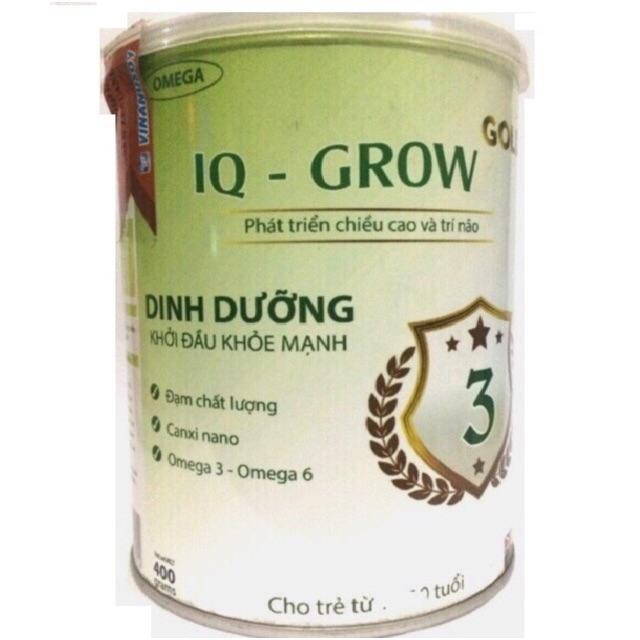 Sữa Omega gold IQ-GROW 3 (400g) cho trẻ từ 1-10 tuổi (date 2020)