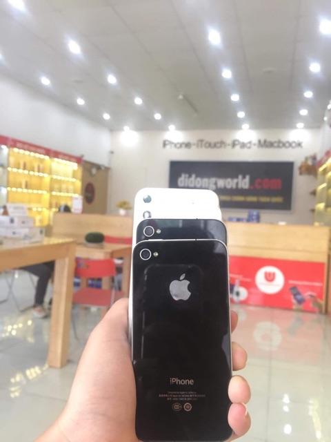 Điện thoại iPhone 4 8GB quốc tế chính hãng kèm phụ kiện