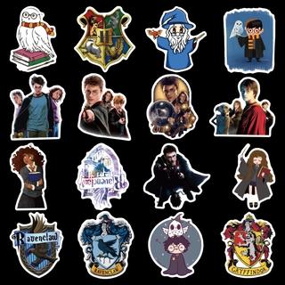 100 Miếng dán hình Harry Potter va li đựng Hành Lý Hình dán máy tính ma thuật cho xe điện thumbnail