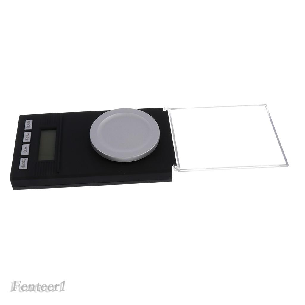 (Hàng Mới Về) Cân Điện Tử Bỏ Túi Hỗ Trợ Cân Trang Sức 50g / 0.001 Gram