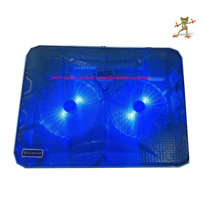 Đế tả nhiệt laptop N139 - 2 Quạt 2 Led