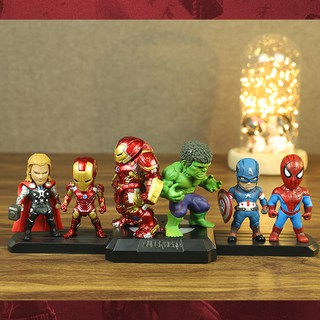 Mô Hình Nhân Vật Siêu Anh Hùng Avengers