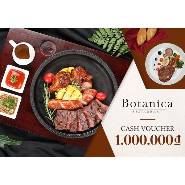Hà Nội [Voucher] - Phiếu quà tặng Nhà hàng Botanica 1000K