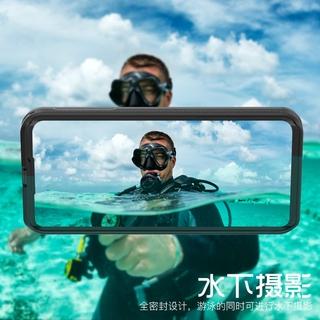 Vỏ điện thoại di động chống thấm nước Huawei P40 P40pro bơi lặn Bộ chống rơi chống bụi mưa tuyết chụp ảnh dưới nước Sili thumbnail