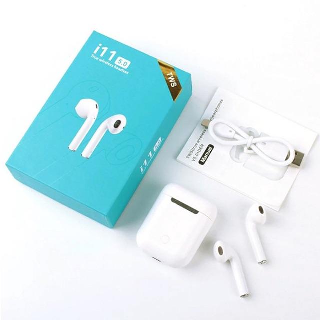Tai nghe bluetooth không dây I11 5.0 Tws cảm ứng tay bảo hành 3 tháng.