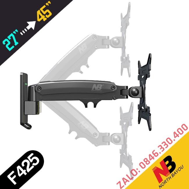 Giá treo màn hình & tivi F425 27 - 45 inch - Xoay đa chiều