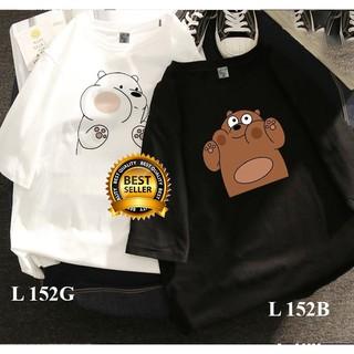 🔥HOT🔥 Áo thun đôi Gấu cực kute – Giá 1 áo